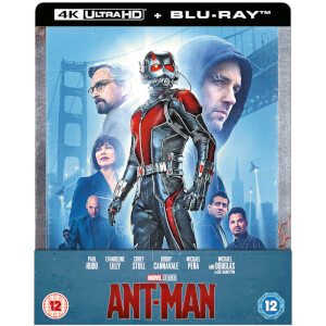 Exclusivité Zavvi : Steelbook Ant-Man - 4K Ultra HD (Blu-ray 2D Inclus)