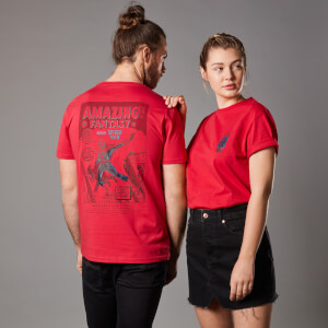 T-Shirt Marvel Amazing Fantasy Issue 15 - Rosso - Unisex