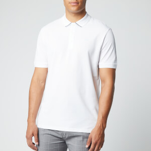 HUGO Men's Daruso203 Polo Shirt - White