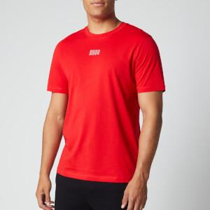 HUGO Men's Durned203 T-Shirt - Open Pink