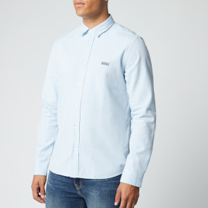 HUGO Men's Evart Shirt - Light Blue