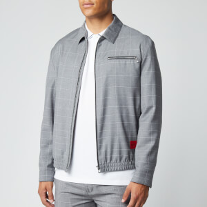 HUGO Men's Urox2031 Jacket - Open Grey