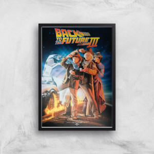 Back To The Future Part 3 Giclee Art Print