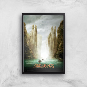 Lord Of The Rings: The Fellowship Of The Ring Giclee Art Print