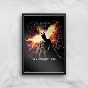 The Dark Knight Rises Giclee Art Print