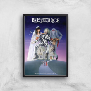Beetlejuice Giclee Art Print