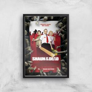 Shaun Of The Dead Giclee Art Print