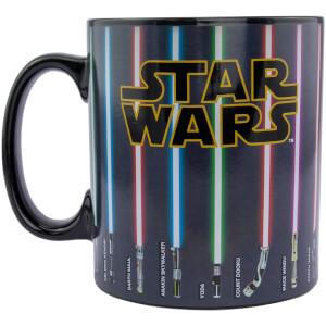 Star Wars Weapons Heat Change XL Mug
