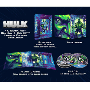 Hulk (2003) - Zavvi Exclusive 4K Ultra HD Steelbook (Includes 2D Blu-ray)