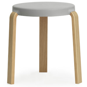 Normann Copenhagen Tap Stool Oak - Grey