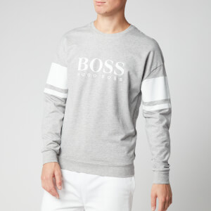 BOSS Men's Authentic Sweatshirt - Light/Pastel Grey