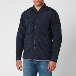 BOSS Men's Lovel Zip 3 Overshirt - Dark Blue