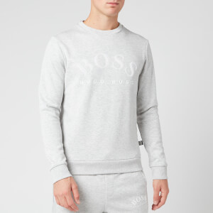 BOSS Men's Salbo Sweatshirt - Light/Pastel Grey