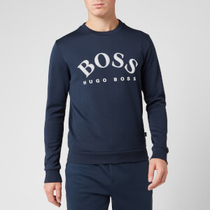 BOSS Men's Salbo Sweatshirt - Navy