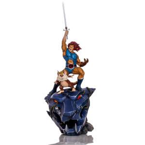 Statuette Deluxe Lion-O & Snarf à l'échelle 1/10 BDS Art Scale Cosmocats 43cm - Iron Studios