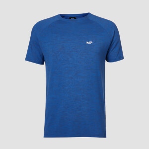T-shirt Performance Short Sleeve MP - Blu cobalto/Nero