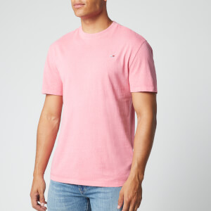 Tommy Jeans Men's Sunfaded Wash T-Shirt - Rosey Pink