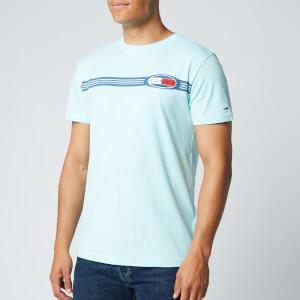 Tommy Jeans Men's Chest Lines Logo T-Shirt - Light Chlorine