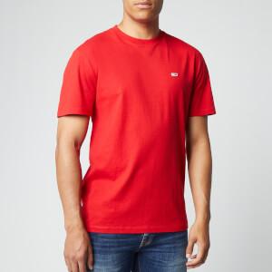 Tommy Jeans Men's Tommy Classics T-Shirt - Deep Crimson