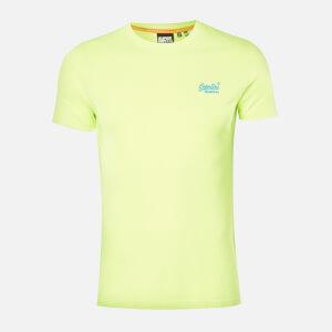 Superdry Men's Neon Lite T-Shirt - Neon Yellow