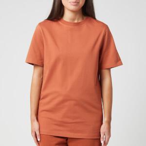 Reebok X Victoria Beckham Women's Logo T-Shirt - Desert Brown