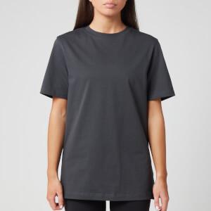 Reebok X Victoria Beckham Women's Logo T-Shirt - Grey
