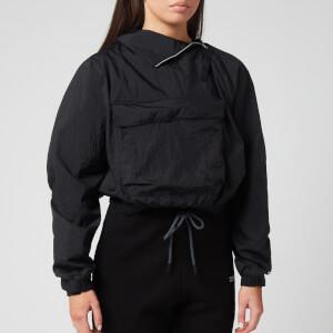 Reebok X Victoria Beckham Women's Woven Crew Jacket - Black
