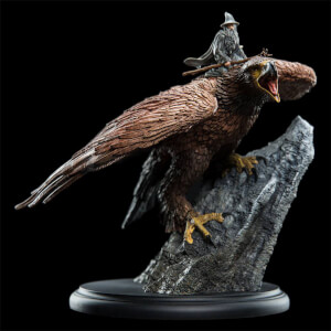 Weta Collectibles Lord of the Rings Statue Gandalf on Gwaihir 15 cm