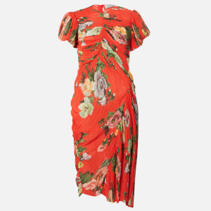 Preen By Thornton Bregazzi Women's Meggy Dress - Red Lotus Flower