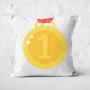 Number 1 Square Cushion