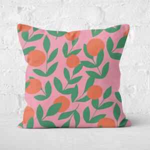 Floral Plant Square Cushion