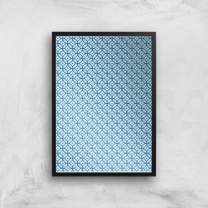 Small Circle Tiles Giclée Art Print