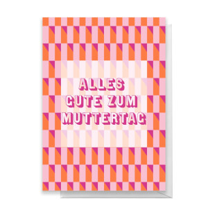 Alles Gut Zum Muttertag Greetings Card