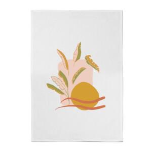 Abstract Holiday Art Cotton Tea Towel