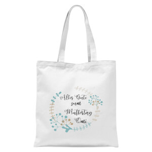 Alles Gute Sum Muttertag Omi Tote Bag - White