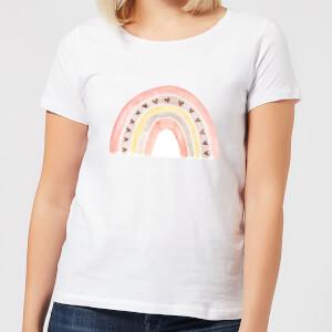 Rainbow Women's T-Shirt - White
