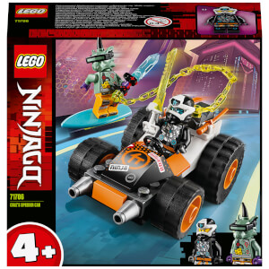 LEGO NINJAGO: 4+ Cole's Speeder Car Building Set (71706)