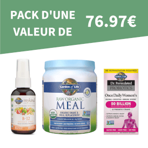Pack de Santé - Femme (D'une valeur de 76.97€)