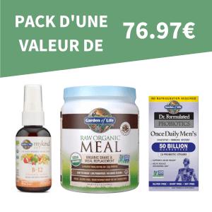 Pack de Santé - Homme (D'une valeur de 76.97€)