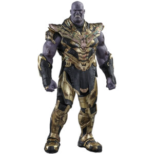 Hot Toys Avengers: Endgame Movie Masterpiece Action Figur 1/6 Thanos Battle Damaged Version 42cm