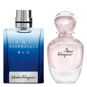 Salvatore Ferragamo His and Hers 50ml Limited Edition Bundle (Worth £120.00)