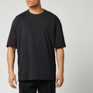 Maison Margiela Men's Resin Garment Dyed T-Shirt - Black
