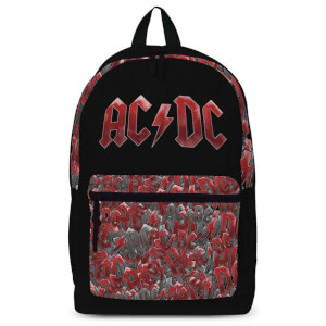 Rocksax AC/DC Pocket All-Over Print Rucksack