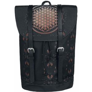 Rocksax Bring Me the Horizon Flower of Life Heritage Bag