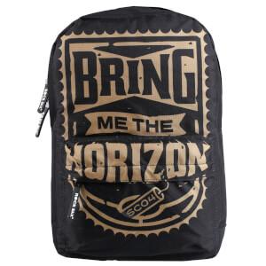 Rocksax Bring Me the Horizon Classic Rucksack - Gold