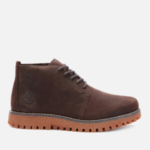 Timberland Men's Jackson's Landing Waterproof Leather Chukka Boots - Dark Brown