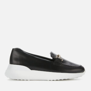 Tod's Women's Fondo Leather Flatform Loafers - Black