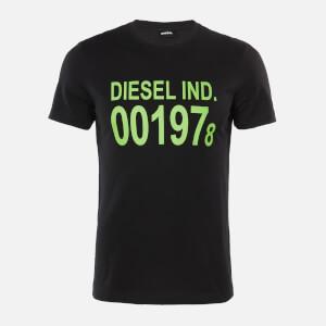 Diesel Men's Diego 1978 T-Shirt - Black