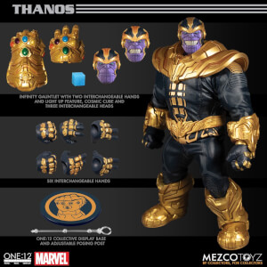 Mezco One: 12 Collective Thanos Action Figure 21cm