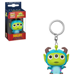 Disney Pixar Alien as Sulley Pop! Keychain